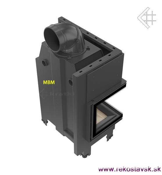 76edc1a070 krbová vložka Kratki MBM 10 BS L - bočné sklo