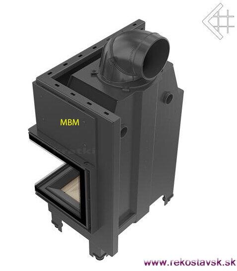 50318b8ae5 krbová vložka Kratki MBM 10 BS P - bočné sklo
